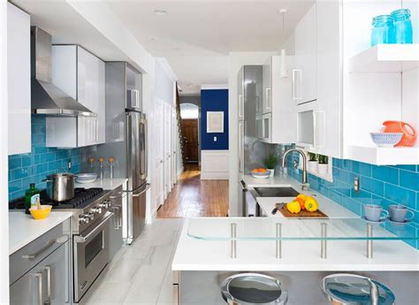 For A Galley Kitchen by 12 Tips To Make The Most Of Your Galley Kitchen
