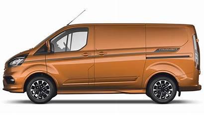 Transit Ford Custom Sport Orange Glow Metallic