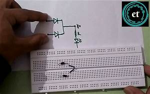 How To Make An Or Gate Using Diodes On Breadboard