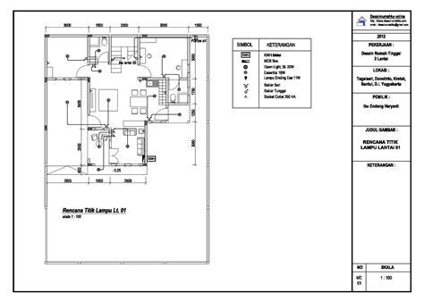 desain rumah contoh produk gambar mekanikal