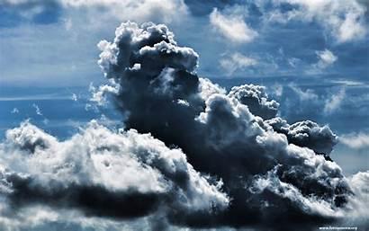 Clouds Wallpapers Resolution Cloud Storm Dark Circle