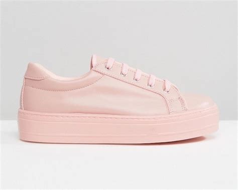 leather work shoes the pink sneaker trend is growing well