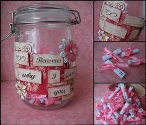 Homemade Valentineu002639s Day Gift Ideas Girlfriend Jar Reasons