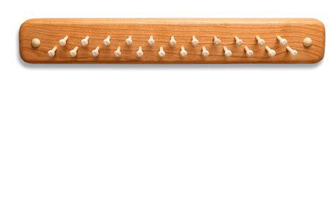 tie racks wall mounted wall mounted tie rack solid cherry wood beau ties ltd