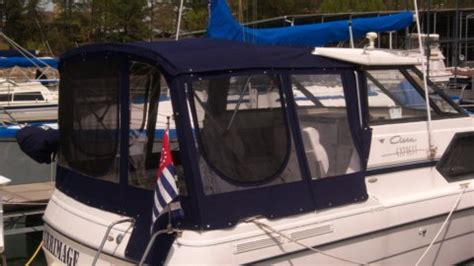 Boat Canvas Zipper Extensions by Considering A Boat Enclosure Helpful Tips