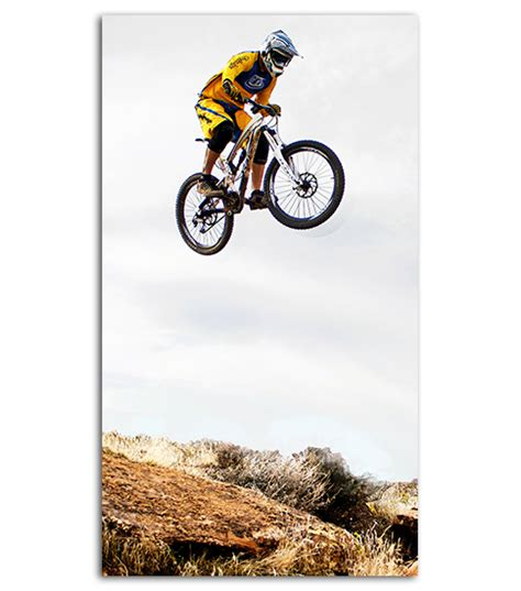 Mountain Bike Hd Wallpaper For Your Mobile Phone