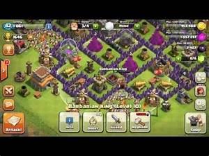 Clash of Clans - TH8 Barbarian King Lvl 10, Lvl 3 Pekka ...
