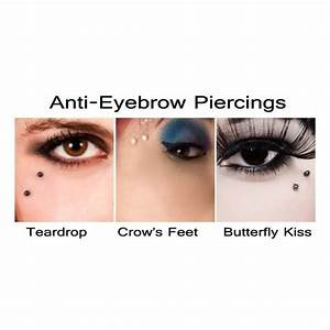 Collection of 25+ Labret Piercing N Eye Tattoo Design