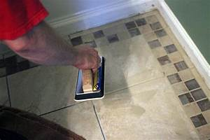 how to install bathroom floor tile how tos diy With the best way to install kitchen tile floor