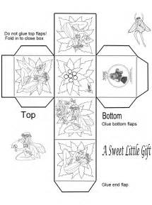 free coloring pages of box template