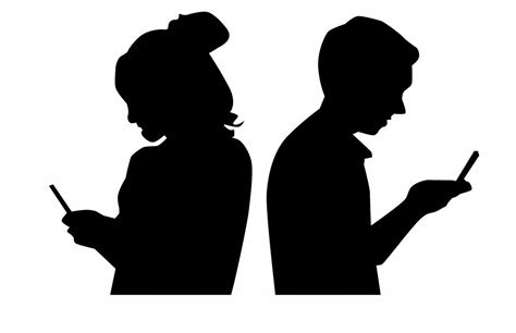 Image result for two people texting free