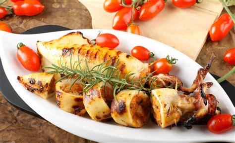 cuisiner des encornets recette d 39 encornets farcis aux gambas et au gingembre