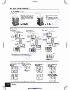 Idec Catalog Relays  U0026 Sockets Idec
