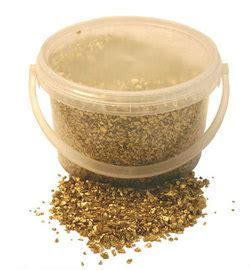Vase Fillers  Gold Glass Sand