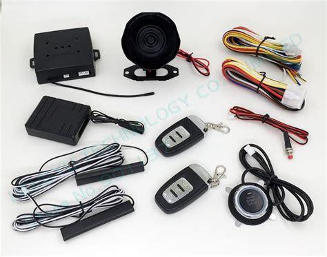 Rfid Car Alarm,smart Key Car Security System,pke Antenna