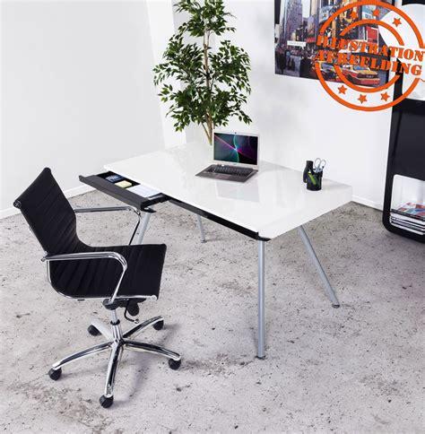 fauteuil design bureau fauteuil de bureau design mega en similicuir noir
