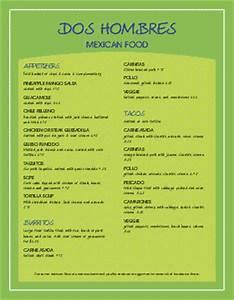 customize 62 spanish menu templates musthavemenus With spanish restaurant menu template