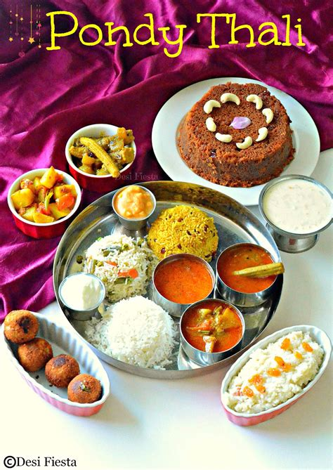 pondicherry thali puducherry cuisinevivikam cake moonu