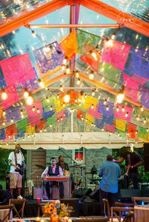 fiesta mexican backyard fiesta concert party ideas
