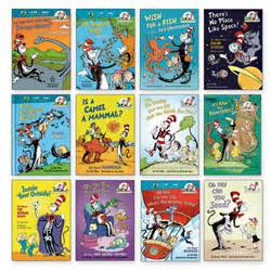 cat in the hat books cat in the hat science book set