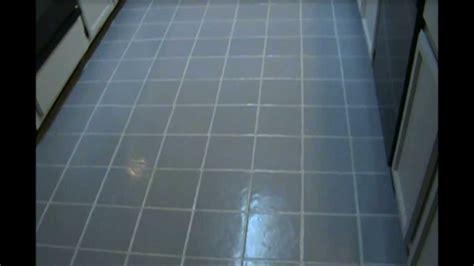 painting kitchen  bathroom tile floor grout lines
