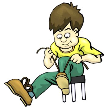 boy putting on shoes clipart put on shoes clipart