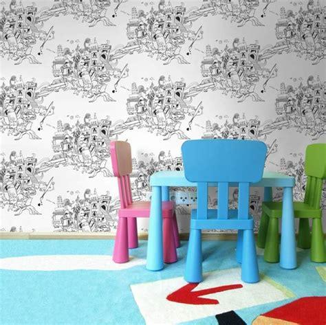 papier peint chambre moderne papier peint tendance 50 idées pour une maison moderne
