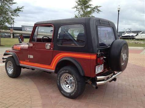 sell   jeep cj renegade  sturgeon bay