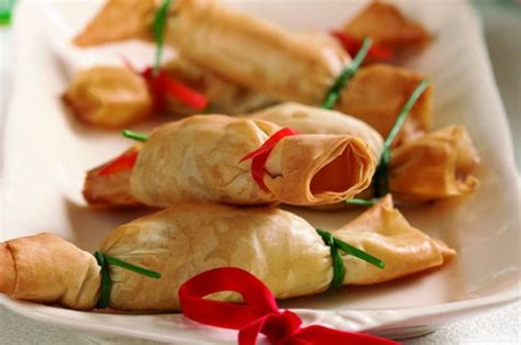 canape filling ideas canapé crackers recipe goodtoknow