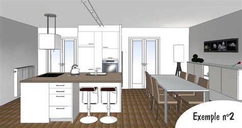 plan 3d cuisine cuisiniste la baule cuisiniste guérande création de