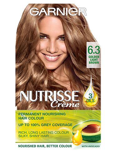 Ultra Brown Hair Dye by 6 3 Golden Light Brown Nutrisse Garnier