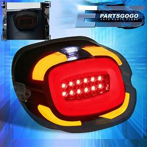 Led Tail Light For Harley Davidson Softail Electra Red