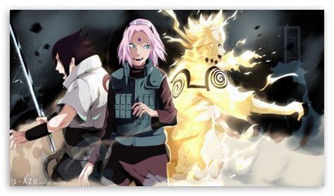 Team 7 Naruto Shippuden Reunited 4k Hd Desktop Wallpaper