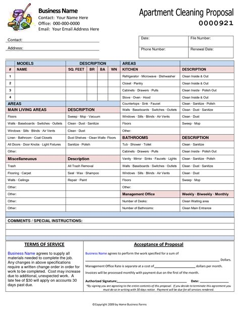 proposal template category page  efozacom
