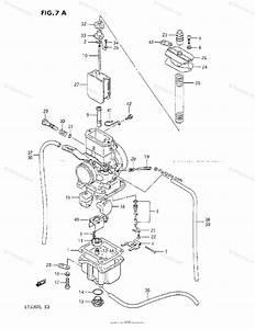 Suzuki Atv 1987 Oem Parts Diagram For Carburetor  J  K  L