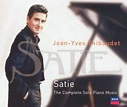 Satie: The Complete Solo Piano Music - Jean-Yves Thibaudet ...