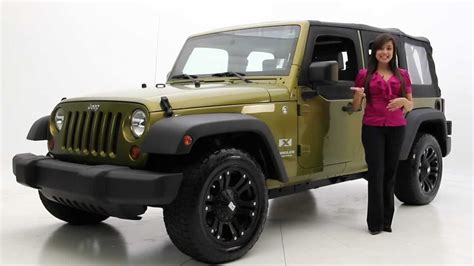 2008 Jeep Wrangler Unlimited X Review