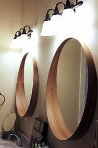 Miroir Rond Salle De Bain : miroir salle de bain rond id es de d coration int rieure ~ Nature-et-papiers.com Idées de Décoration