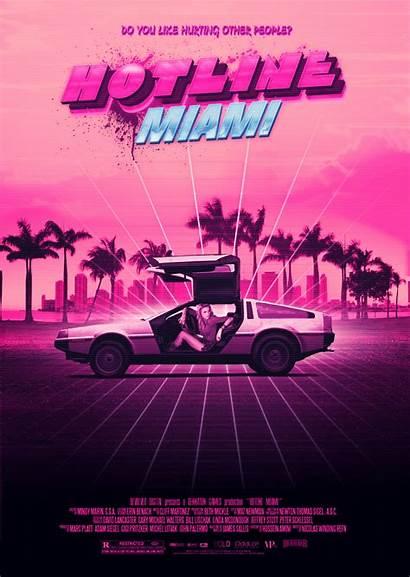 Miami Hotline Neon Deviantart 80s Retro Aesthetic
