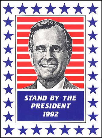 george hw bushs political resume 187 all the presidents caign posters stripes every which way carl anthony