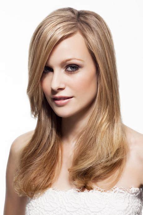 frisuren fuer glatte lange haare