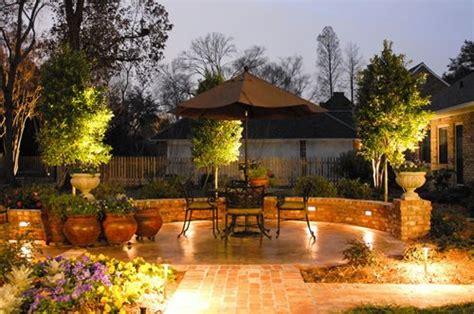 angelos landscape baton patio lighting ideas landscaping network