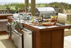 backyard kitchen design ideas sizzling outdoor kitchen designs the house designers