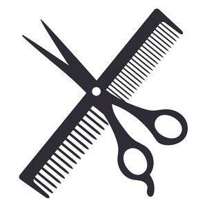 haircut logo sophie gallo design silhouette store