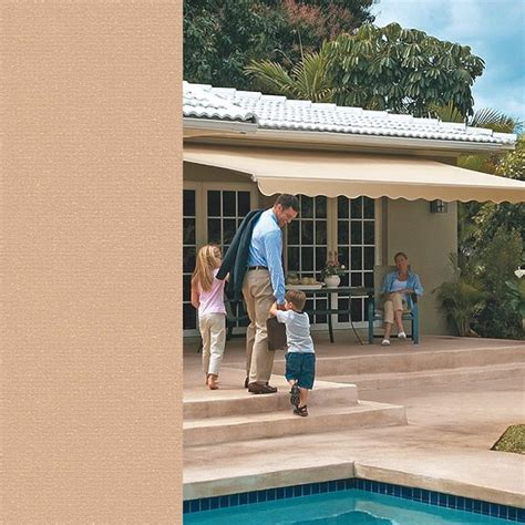 sunsetter retractable awnings costco home improvements