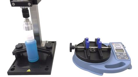 bottle cap torque tester  calibrate  capping machine youtube
