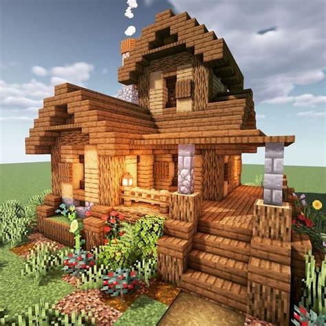 pin  bella  minecraft   minecraft houses survival minecraft cottage easy