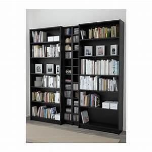 Bibliothèque Noire Ikea : billy gnedby biblioth que brun noir int rieurs pinterest architecture int rieur et d co ~ Teatrodelosmanantiales.com Idées de Décoration