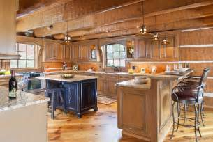 Log Cabin Kitchen Lighting Ideas by Today S Log Homes For Advantageous And Luxurious Living