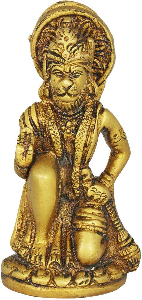 Seated Hanuman (Small Statue)